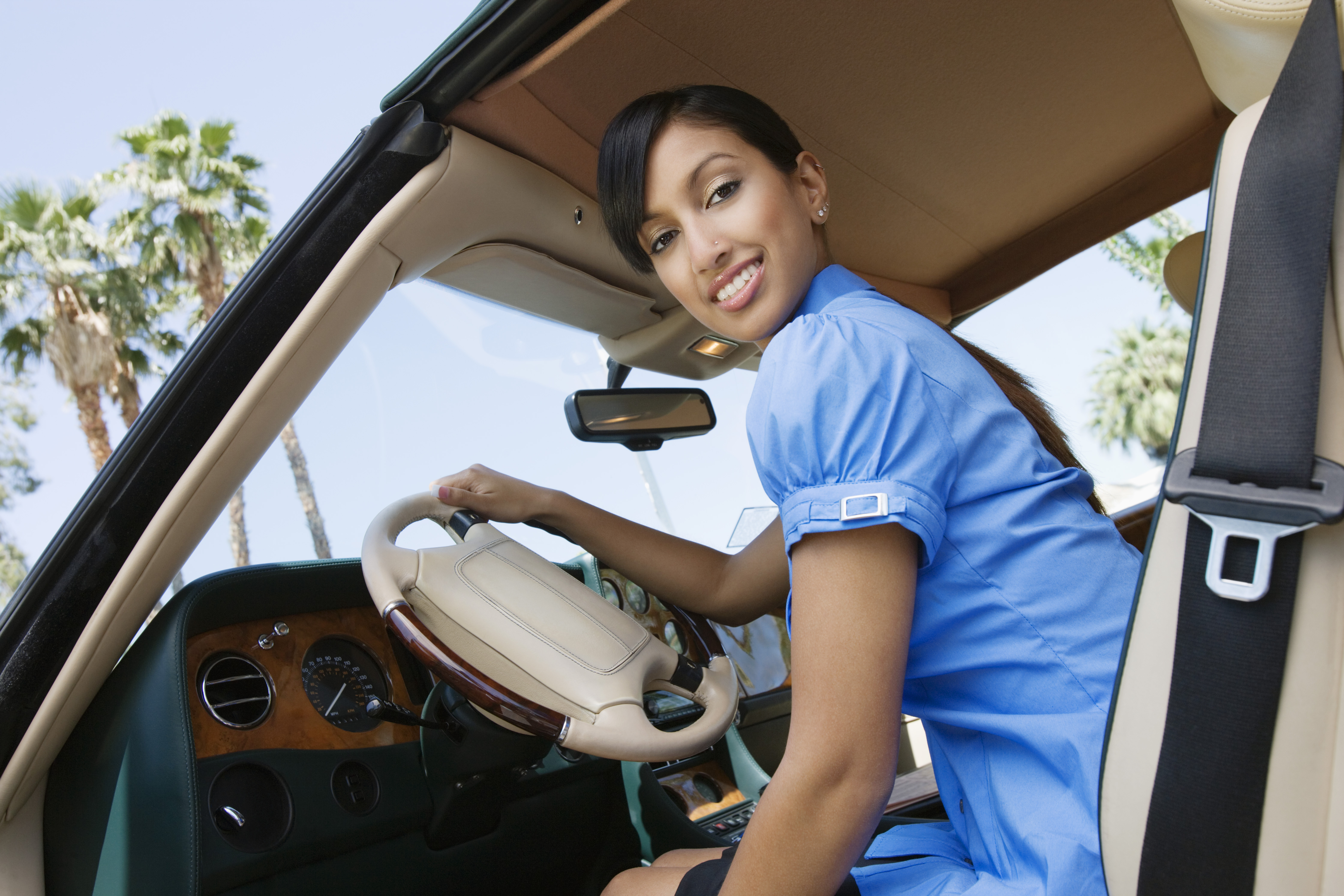 When your teen driver gets behind the wheel help make sure they understand car safety.