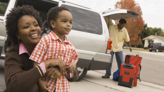Is it safe to use Uber with kids?