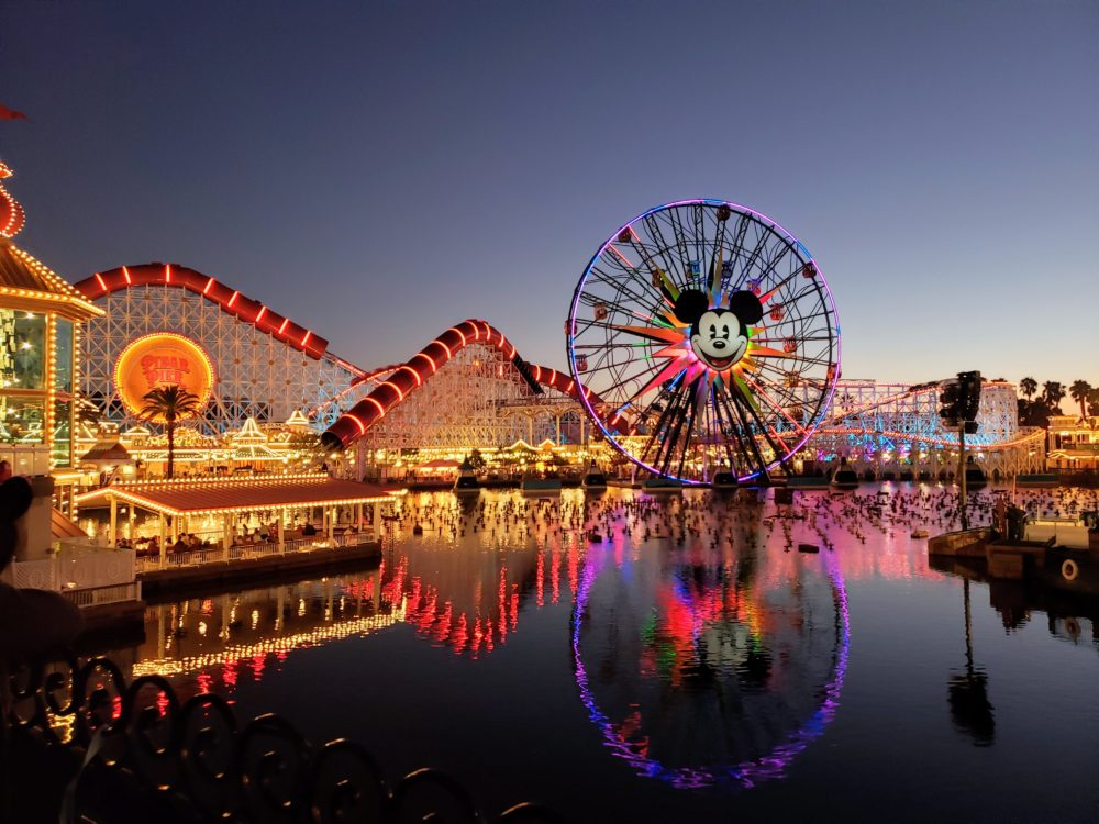 Disneyland vs. Disney World: you'll only see this site in Cali.