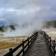 Boardwalk at Yellowstone.