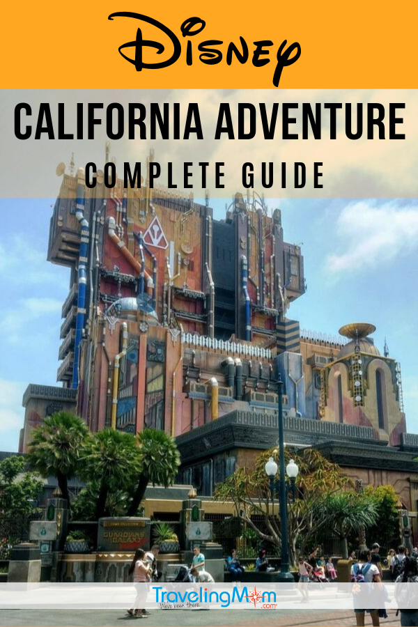 Disney California Adventure park at the Disneyland Resort is home to Cars Land, Marvel characters and Incredicoaster, a looping roller coaster. Get all the details on touring this park in this complete guide including food and entertainment. #TMOM #Disney #Disneyland #California #DisneyTips | TravelingMom | Family Travel | Travel with Kids