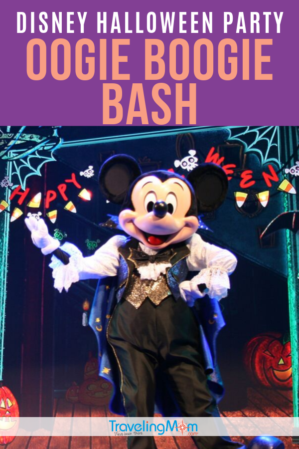 The new Oogie Boogie Bash - A Disney Halloween Party, held at California Adventure park is the best way to celebrate the Halloween season! Find out more about this event, how it compares to the previous Disneyland Halloween party, what's returning, where to get tickets and whether this slightly spooky special event is okay for kids. #TMOM #Halloween #Disneyland #DisneyTips #FallTravel | TravelingMom | Family Travel | Travel with Kids | California
