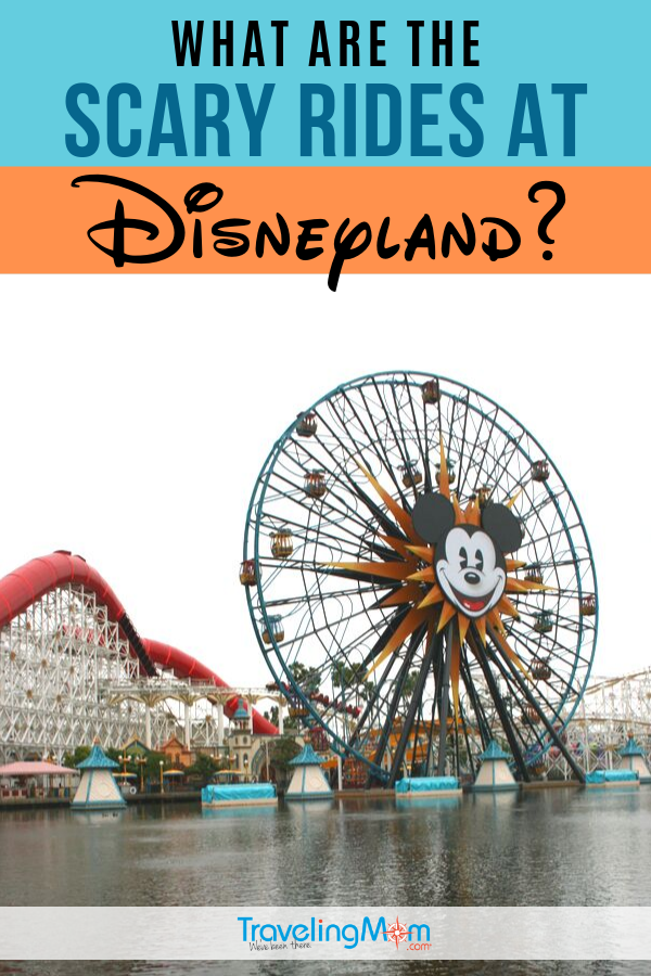 Disneyland is a place for kids of all ages but there are some rides and attractions that might be scary. Get the insider tips on what to expect, which rides have fright-potential and how to handle fear with kids at Disneyland. #TMOM #Disney #DisneyTips #Disneyland | TravelingMom | Amusement Parks | Theme parks | Family Travel