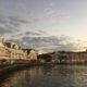 Disney BoardWalk restaurants at sunset