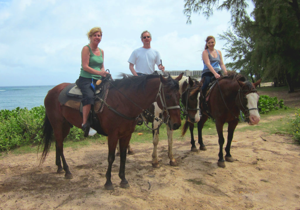 horseback riding is among things to do on Oahu