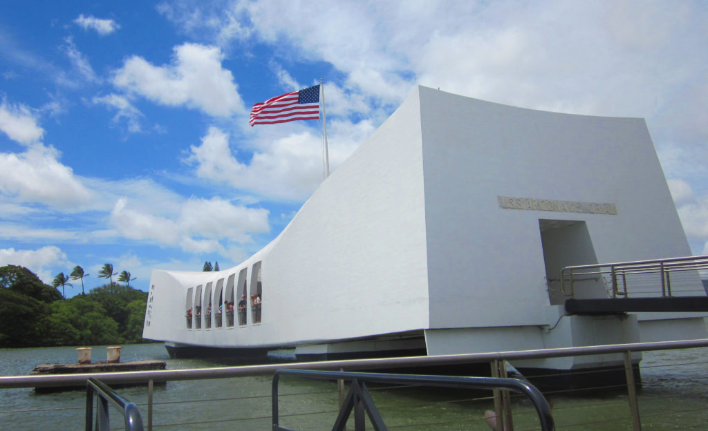 Pearl Harbor on oahu