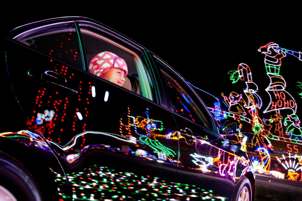Sevierville Tennessee holiday of lights festival