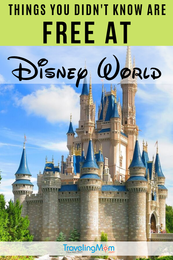 A Disney vacation can be pricey but there are some great ways to save money, including these little-known freebies! There are things you didn't know are FREE at Disney World and they can save you time, money and add a bit more magic to your family vacation. #TMOM #DisneyWorld #Disney #WDW #DisneyTips #BudgetTravel | TravelingMom | Budget Travel Tips | Disney on a Budget