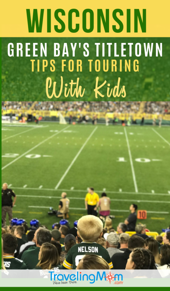 What's there to do in the Packers-owned entertainment district in Green Bay Wisconsin? Yes, there's football of course, but lots of other fun things to do with kids in Green Bay's Titletown. There are tips on celebrating sports other than football in Green Bay as well! #TMOM #Wisconsin #GreenBay #Packers | TravelingMom | Sports Travel | Midwest
