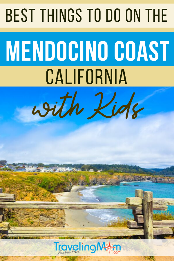 The Mendocino Coast line of California is worth the drive from nearby San Francisco with kids! Find out where to stay (including camping options), best restaurants for kids and family activities in this rugged coastline that worth exploring! #TMOM #California #Mendocino | TravelingMom | Mendocino County | Travel with Kids | Family Travel