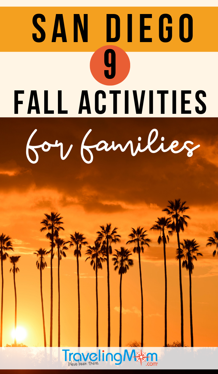 While San Diego weather still calls for flip-flops, there are still some great ways to celebrate fall! Find out where to find family activities in San Diego this autumn including apple picking, Dia de los Muertos and theme park Halloween fun! #TMOM #SanDiego #Halloween #FallTravel | TravelingMom | California | Travel with Kids