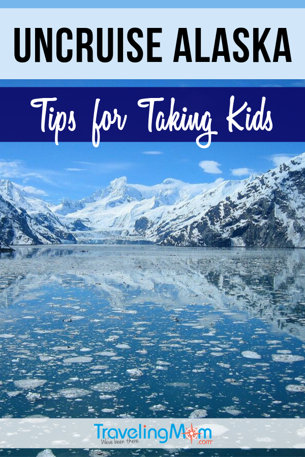 Uncruise Alaska is the ideal way to unplug and take in the beauty that is Alaska. But is this cruise line good for families with kids? Get the tips on taking children including what works and what doesn't work for kids on an Alaskan cruise with Uncruise. #TMOM #Cruising #Alaska | TravelingMom | Travel with Kids | Cruise Ship