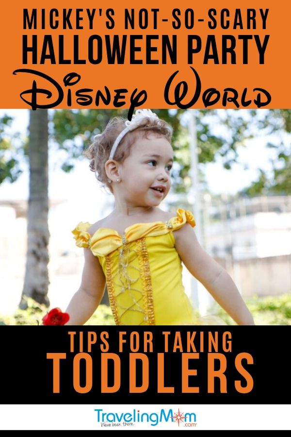 Can you bring toddlers to Mickey's Not So Scary Halloween Party at Walt Disney World? Yes! #disneyworld #tmom #halloween