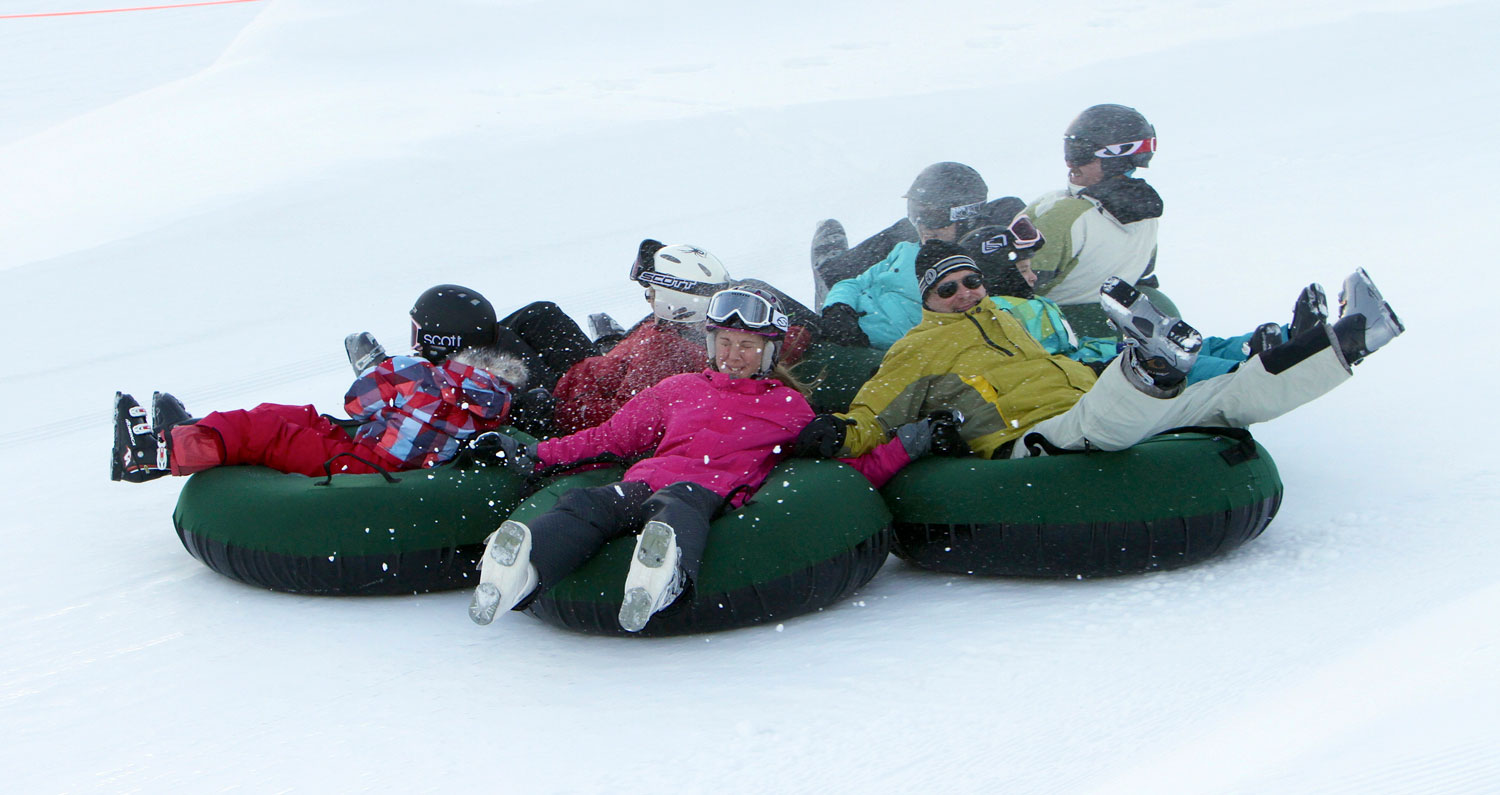 Snow tubing at Boyne Mountain Resort