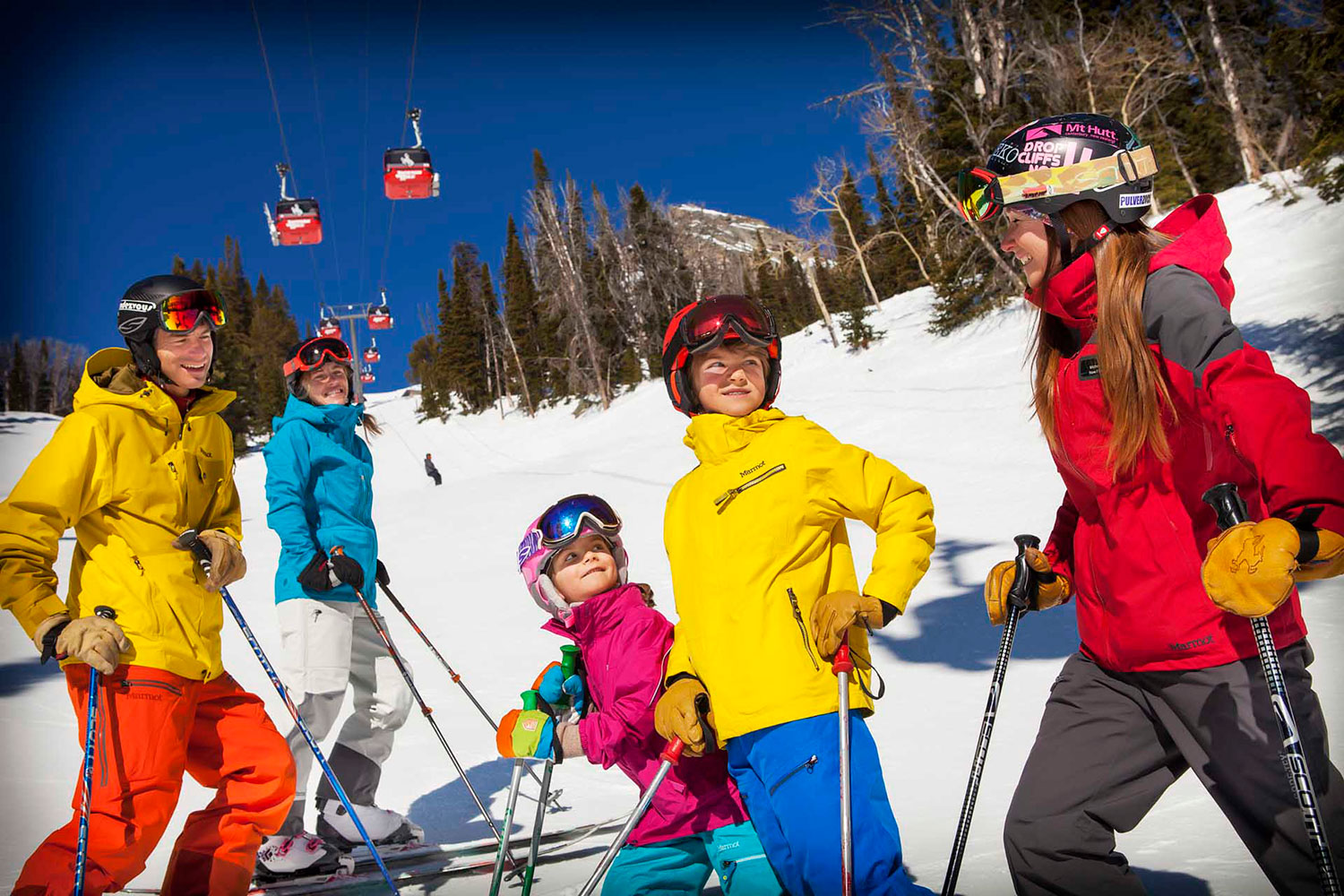 Ski lessons at Mountain Sports School Jackson Hole one of best ski resorts in the US