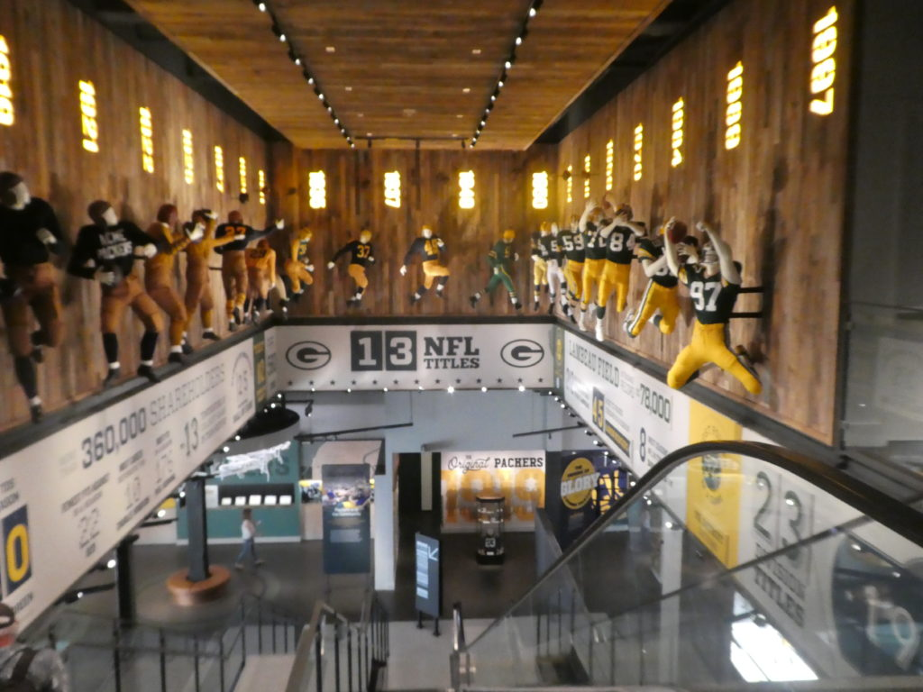 The Green Bay Packers Museum
