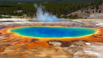 Grand Prismatic Springs at Yellowstone Naitonal Park