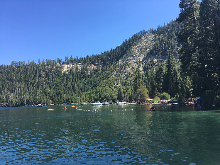things to do in South Lake Tahoe - sailing into Camp Richardson Marina