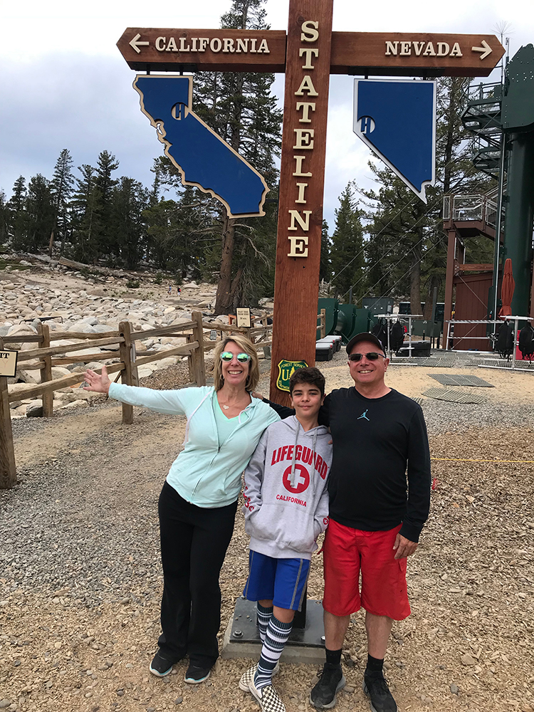 Things to do in South Lake Tahoe - straddling the state line