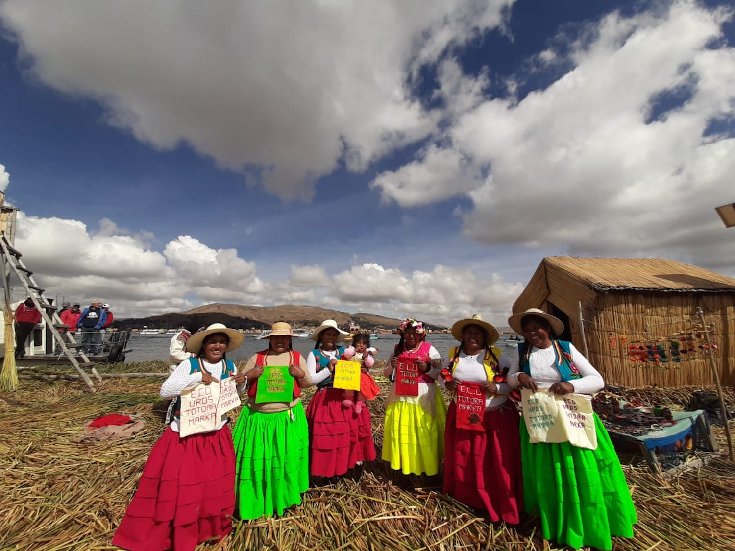 Sustainable tourism includes helping an island in Peru be plastic free.