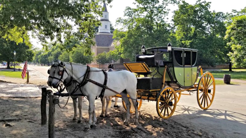 Uncategorized VIRGINIA'S HISTORIC TRIANGLE IS A TIME MACHINE TO COLONIAL AMERICAN TIMES