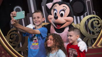 You can take your own photos with characters for free at Disney World.