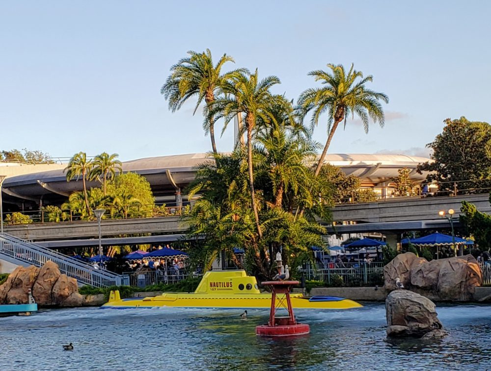 Disneyland vs. Disney World: you can only find Nemo at the original park
