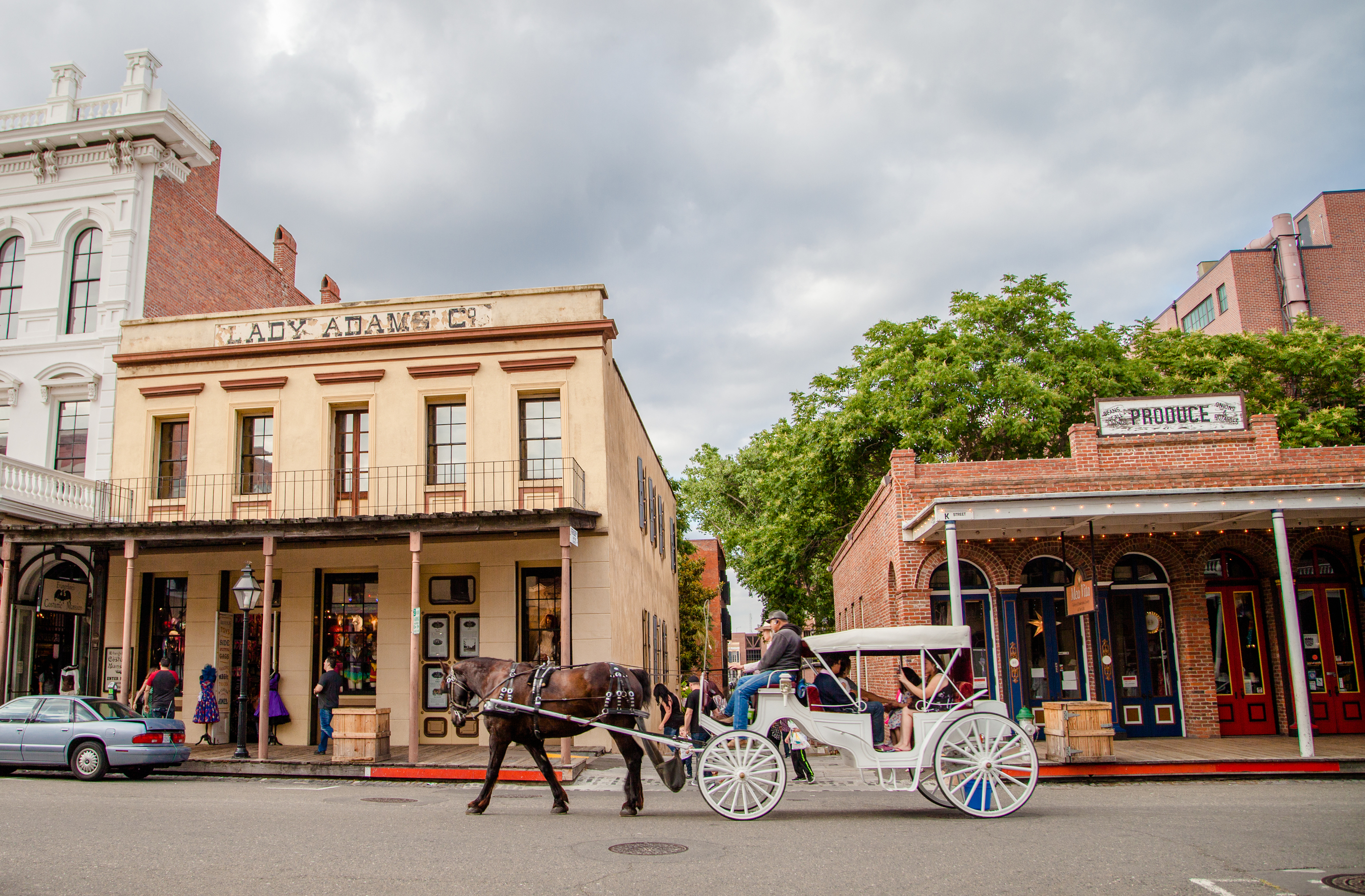 Visiting old Sacramento is one of many things to do in Sacramento.
