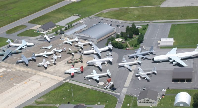 Where do old airplanes go? The lucky ones go to the Air Mobility Command Museum in Dover, Delaware. Photo credit: Air Mobility Command Museum