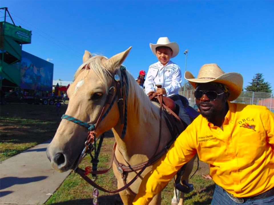 The Black Cowboy Festival is one of many things to do in Oakland CA.