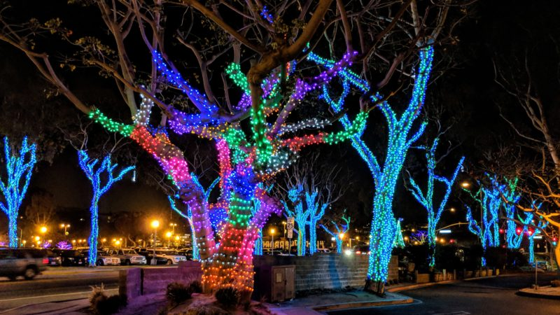 Christmas Lighting.13 Enchanting Christmas Towns In The Usa Traveling Mom