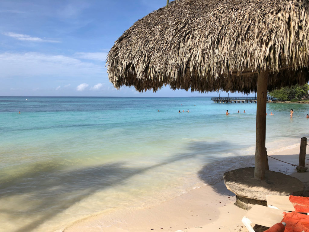 Hilton La Romana review. Swimming Beach