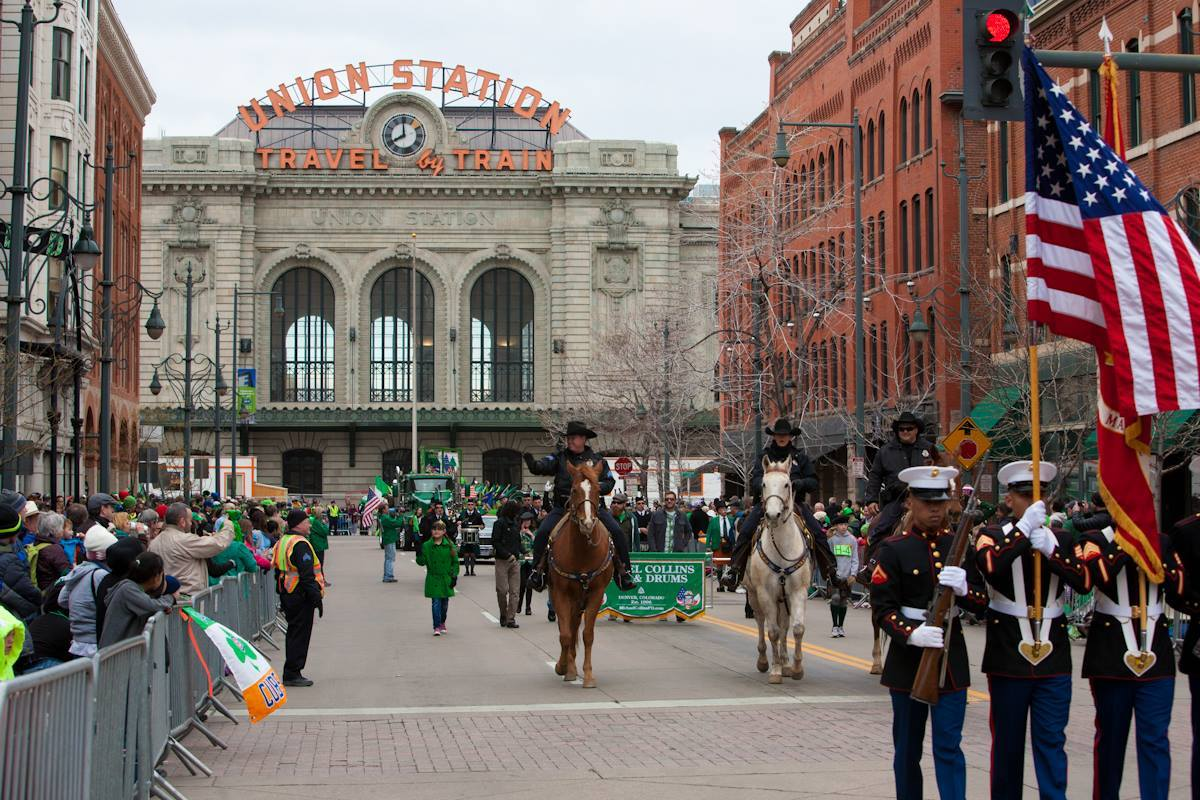 Everyone loves a parade, and Denver's St. Patrick's Day parade is one of the largest.