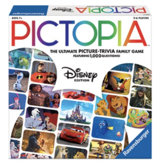 Disney Pictopia trivia game for the whole family - TravelingMom disney gift ideas