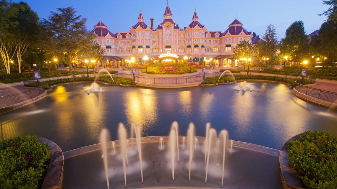Disneyland Hotel is near entrance to park for easy access to Disneyland Paris rides.