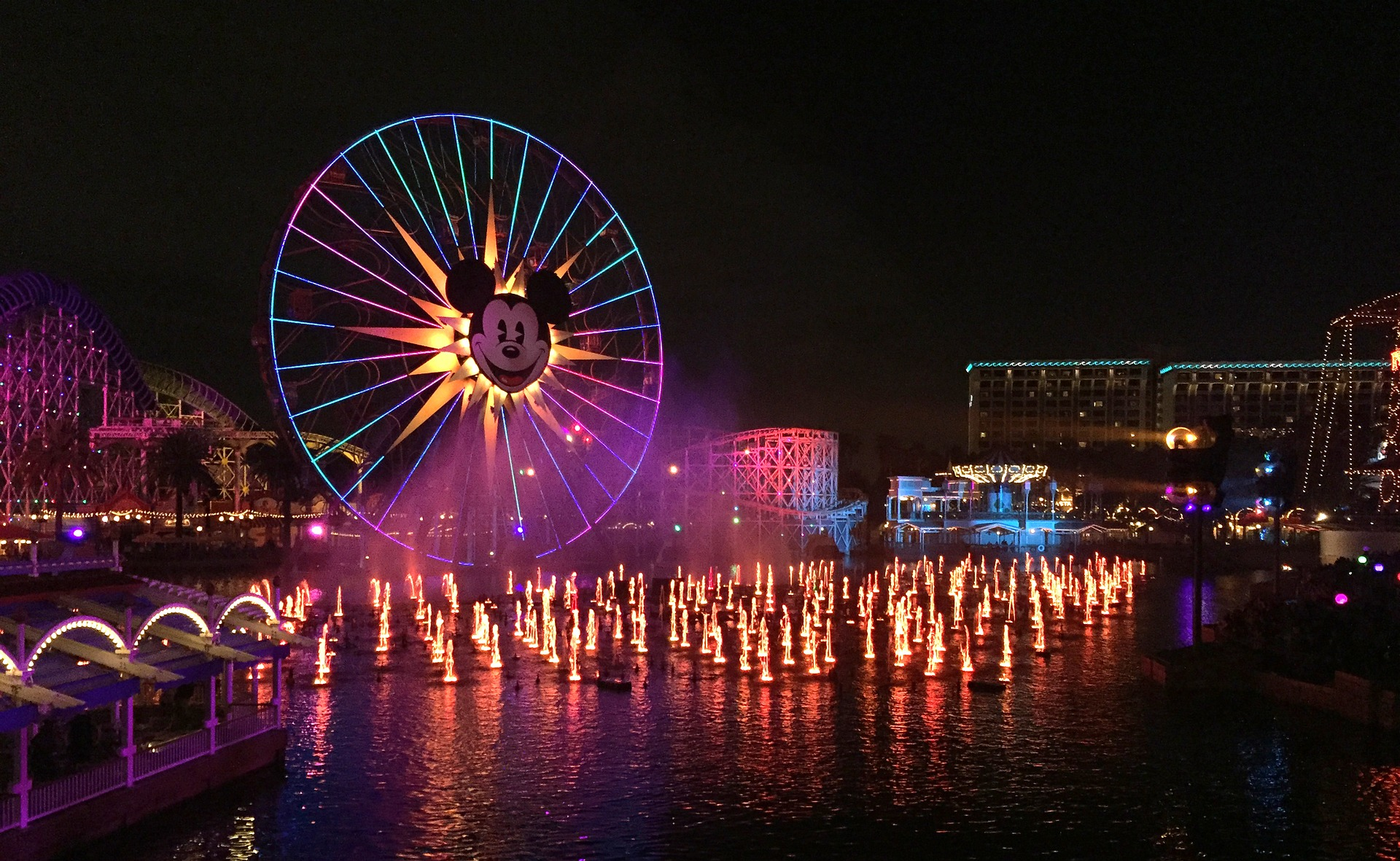Could a ferris wheel ride with Mickey Mouse be one of the scariest rides at Disney?
