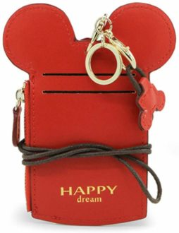 Gifts for Dsiney lovers: leather lanyard