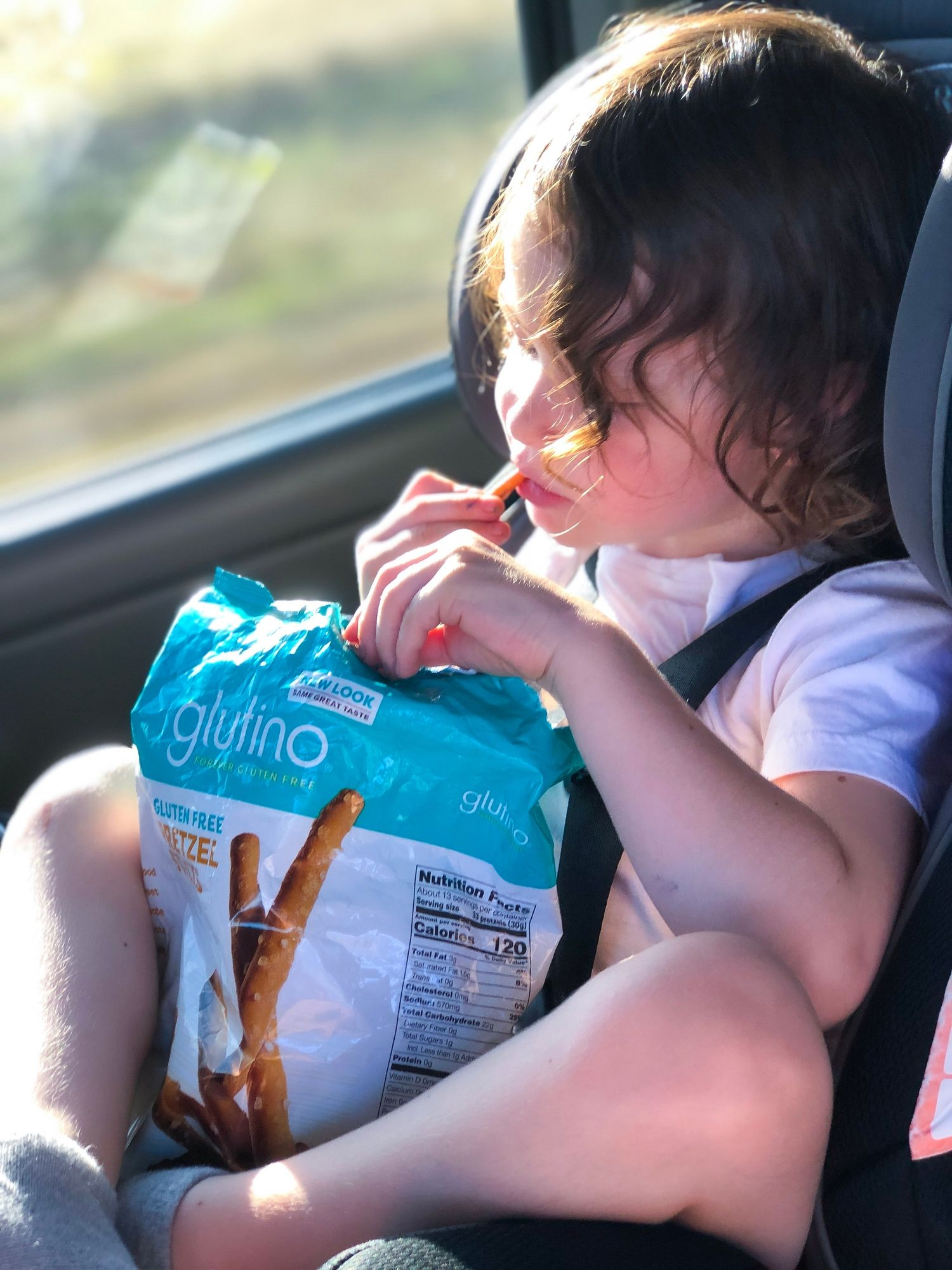 Gluten and dairy free snacks for kids - keeping crumb-free.