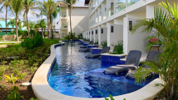 Hilton La Romana review. Swim out Room
