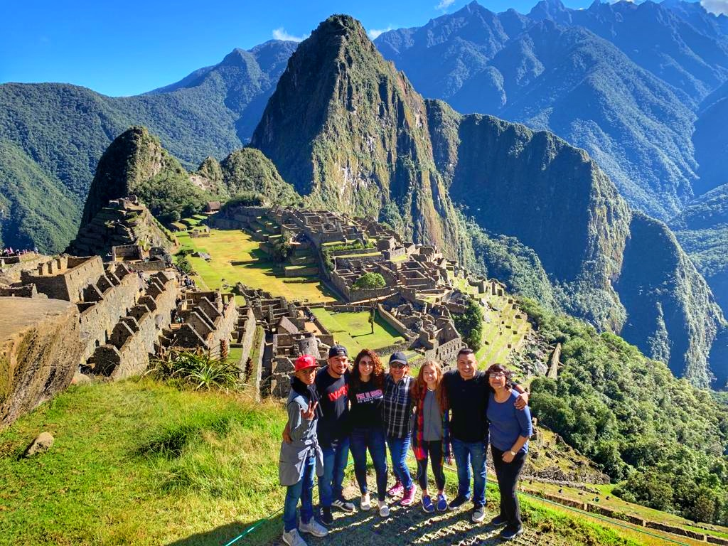 Travel to Peru and see Machu Picchu.