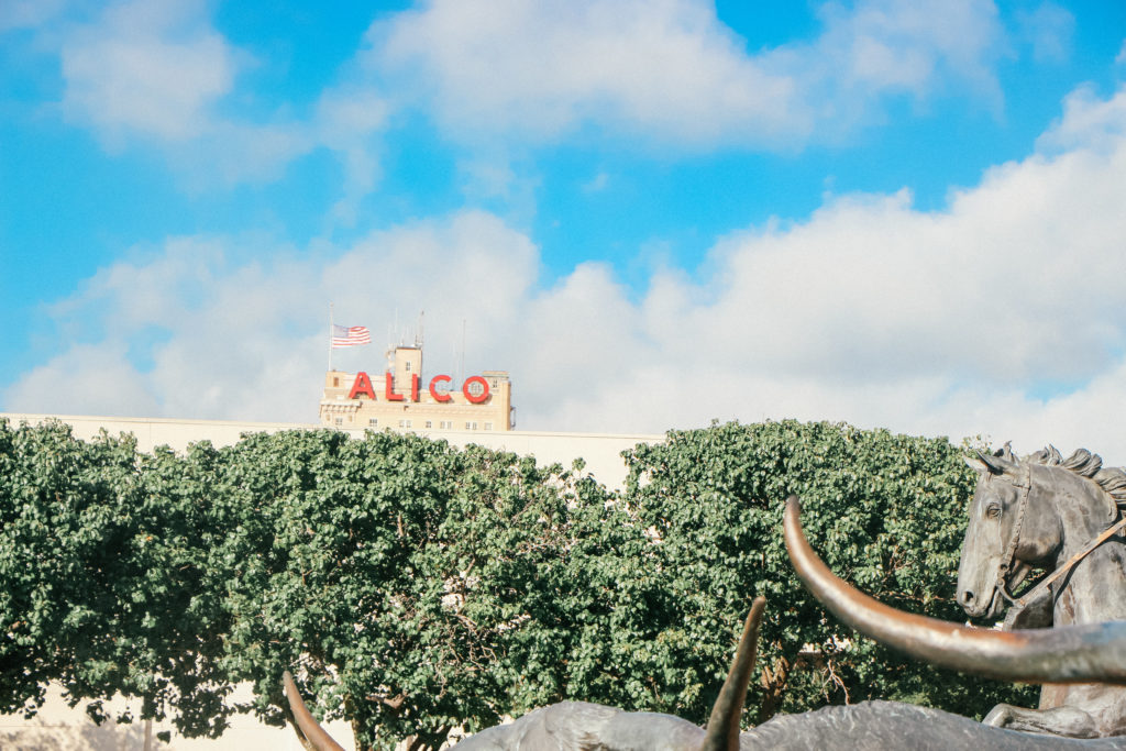Things to do in Waco Texas - Alico sign
