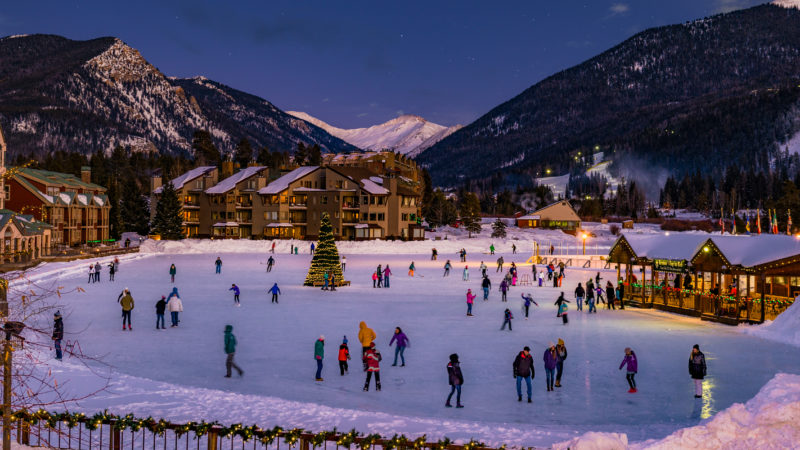 ice skating in Keystone