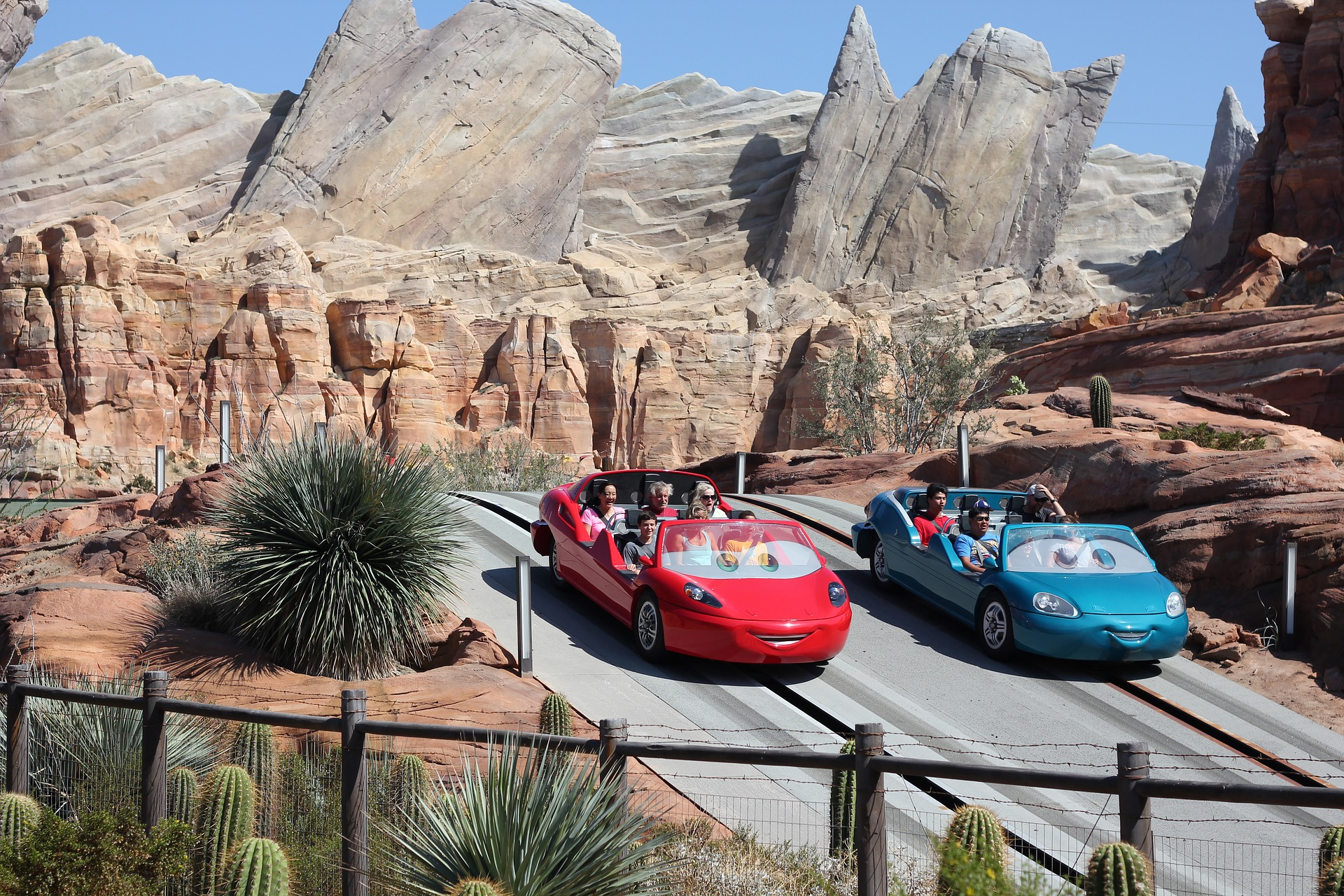 Could Radiator Springs Racers be one of the scariest rides at Disneyland?