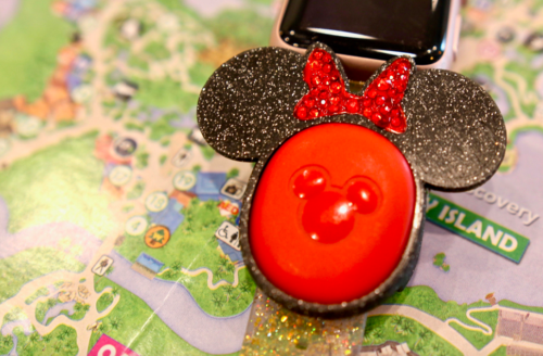Disney MagicBand puck holders on Etsy