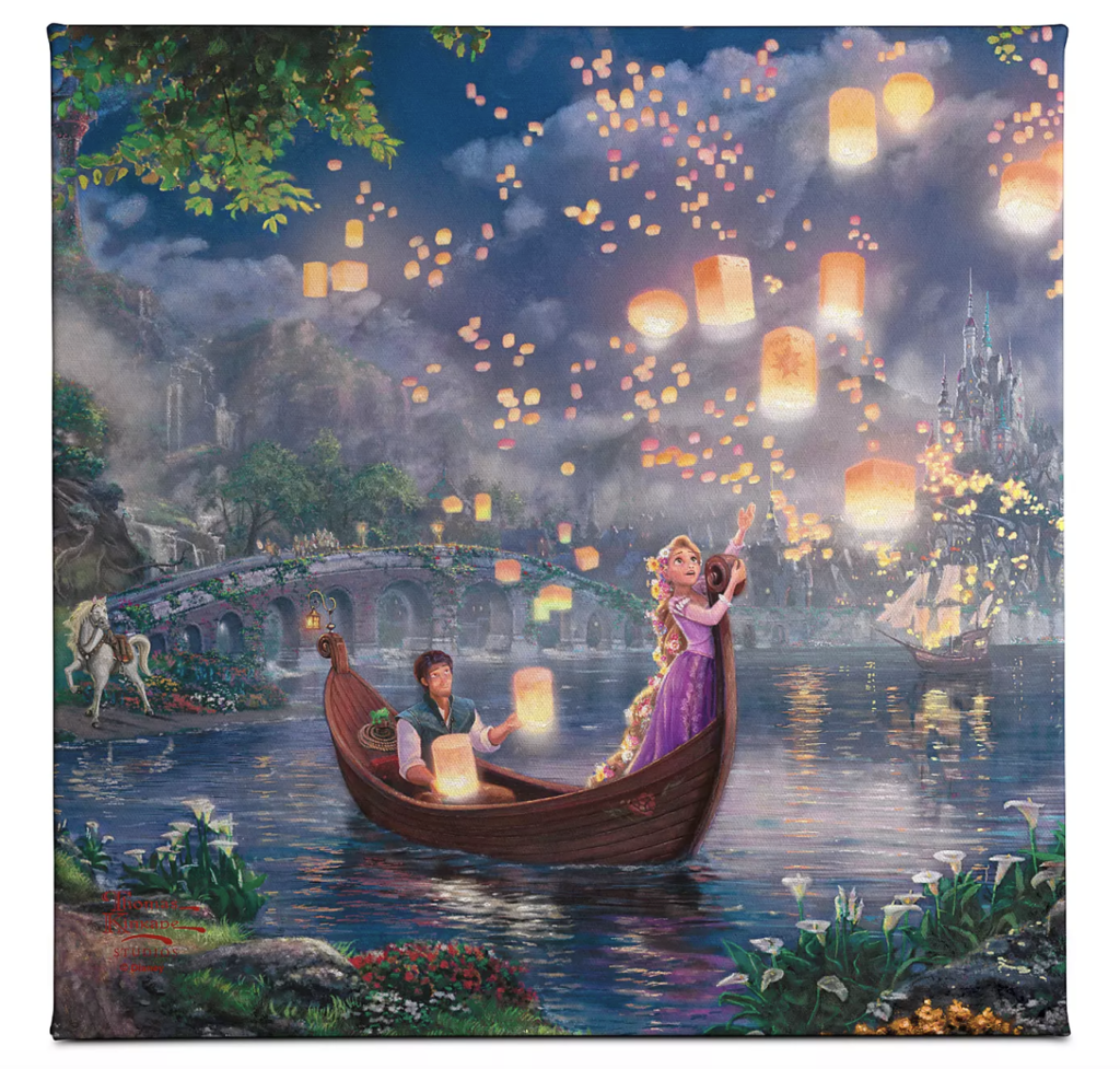 Disney canvas wall art - TravelingMom disney gift ideas