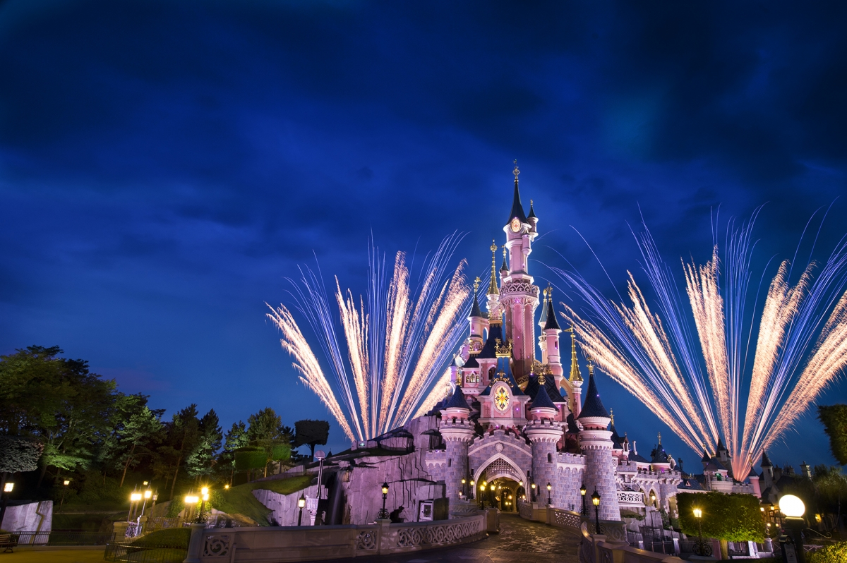 Along with Disneyland Paris rides, don't forget to visit Sleeping Beauty Castle.