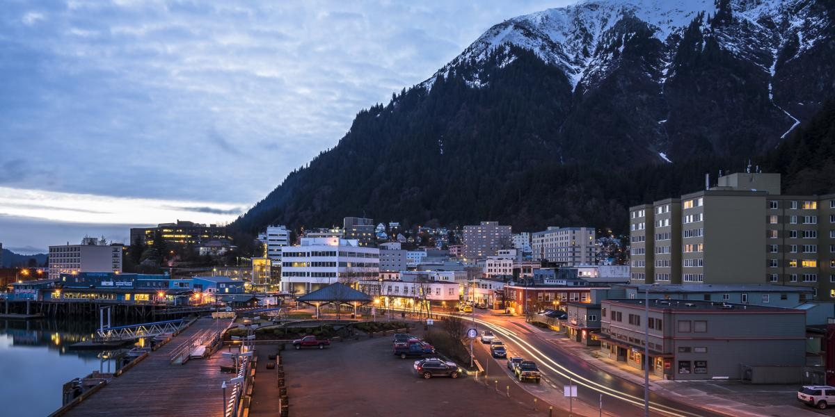 Juneau is many things: a mountain town, a coastal community and the most scenic capital city in the U.S. Photo credit: Travel Juneau