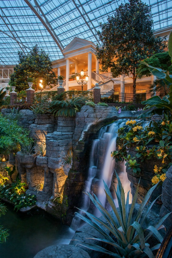 Cascades Waterfall at the Gaylord Opryland Resort in Nashville