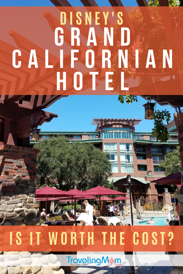 Disney's Grand Californian Hotel and Spa is a luxury experience at the Disneyland Resort, but is it worth the cost? Get the tips on what to expect and hotel perks that may be worth the upcharge. #TMOM #Disneyland #Disney #DisneyResort #Hotels | TravelingMom | Disney Tips