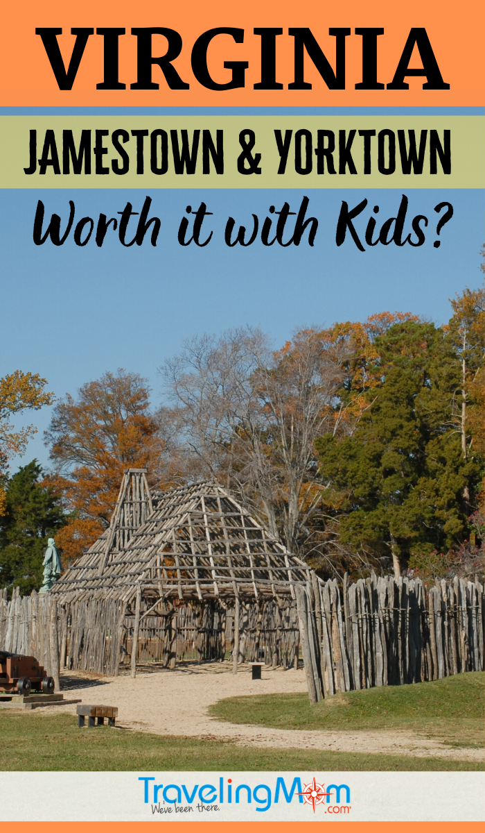 Is a trip to historical Jamestown and Yorktown in Virginia worth it with kids? You can make learning history fun with these tips on taking kids and how to get them excited about the trip. #TMOM #Virginia #Jamestown #Yorktown #RoadSchooling | TravelingMom | Educational Vacation | Road School